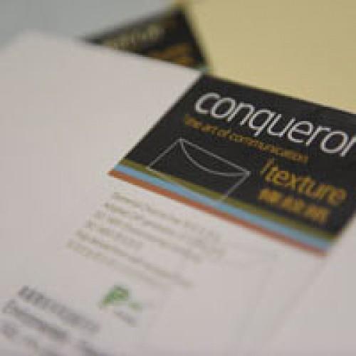 Conqueror Laid DL envelope