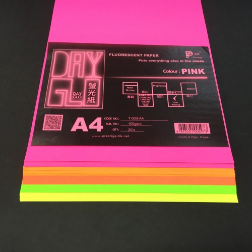 DayGlo Fluorescent Paper