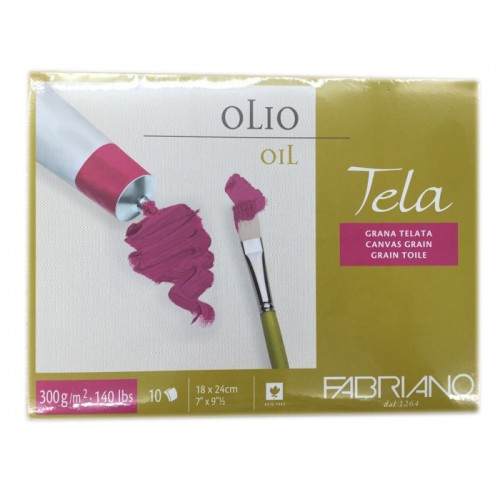 Fabriano Tela Block for Oil