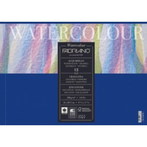 Fabriano 25% Cotton Watercolour Paper