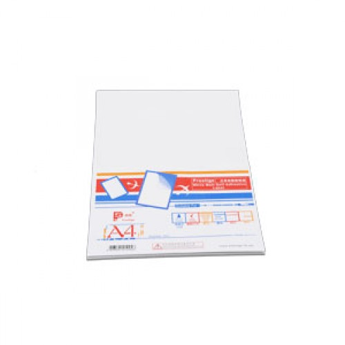 Prestige White Matt Self Adhesive Label